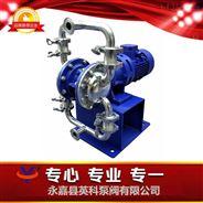 卫生食品级电动隔膜泵药液输送泵304隔离泵