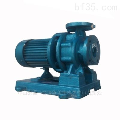 2寸臥式單級泵直聯式離心泵清水泵