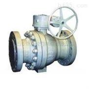 固定式固定球阀|Q347Y金属硬密封固定式球阀