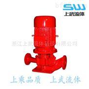 鑄鐵立式管道增壓送水消防泵
