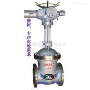 不銹鋼電動法蘭閘閥-上海儒柯