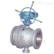 Q(9)347F/Y蜗轮传动浮动四氟密封球阀