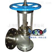 铸钢柱塞式放料阀-上海儒柯