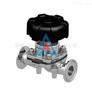 爱伦卫生级阀门管件,气动隔膜阀