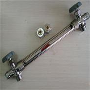 不锈钢材质玻璃管液位计