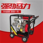 手推式6寸柴油机水泵流量会有200m3