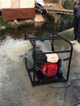 6寸移动式汽油机大流量抽水泵机型HS60WP