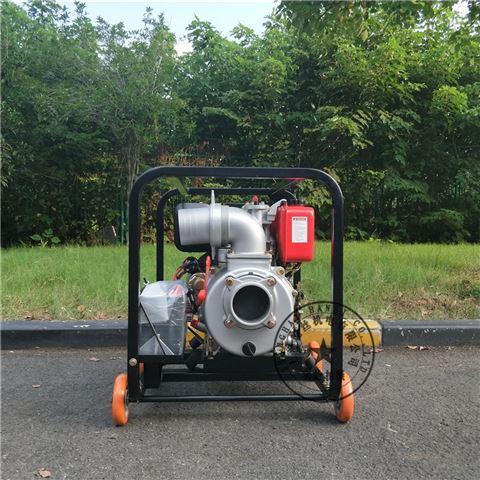 100mm口径4寸口径柴油机清水泵