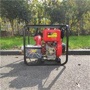 单缸风冷4寸柴油机高压泵组