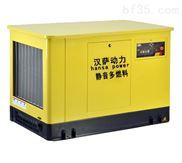 封闭式静音20千瓦汽油发电机组